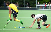 DEN HAAG - Op de velden van KZ speelt Duitsland een oefenwedstrijd tegen Australie ter voorbereiding van het WK 2014. FOTO KOEN SUYK