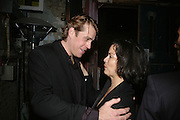 Ben Elliot and Bianca Jagger, SIMON de PURY AND THE PARTNERS OF PHILLIPS de PURY & COMPANY Host a dinner in honour of <br />ILYA AND EMILIA KABAKOV. FOLLOWED BY THE BOX PARTY HOSTED  BY QUINTESSENTIALLY.  WILTONS <br />GRACES ALLEY  OFF ENSIGN STREET, London E1. 12 October 2007. -DO NOT ARCHIVE-© Copyright Photograph by Dafydd Jones. 248 Clapham Rd. London SW9 0PZ. Tel 0207 820 0771. www.dafjones.com.