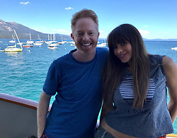 """Sofia Vergara releases a photo on Instagram with the following caption: """"@jessetyler #ellagoTahoe\ud83d\udef6 #setlife #lucky\u2764\ufe0f"""". Photo Credit: Instagram *** No USA Distribution *** For Editorial Use Only *** Not to be Published in Books or Photo Books ***  Please note: Fees charged by the agency are for the agency's services only, and do not, nor are they intended to, convey to the user any ownership of Copyright or License in the material. The agency does not claim any ownership including but not limited to Copyright or License in the attached material. By publishing this material you expressly agree to indemnify and to hold the agency and its directors, shareholders and employees harmless from any loss, claims, damages, demands, expenses (including legal fees), or any causes of action or allegation against the agency arising out of or connected in any way with publication of the material."""
