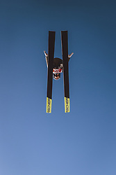 02.03.2021, Oberstdorf, GER, FIS Weltmeisterschaften Ski Nordisch, Oberstdorf 2021, Damen, Skisprung, HS137, Einzelbewerb, Qualifikation, im Bild Chiara Hoelzl (AUT) // Chiara Hoelzl of Austria during the qualification jump for the women ski Jumping HS137 single competition of FIS Nordic Ski World Championships 2021 Oberstdorf, Germany on 2021/03/02. EXPA Pictures © 2021, PhotoCredit: EXPA/ JFK