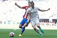 040817 Real Madrid v Atletico de Madrid, La Liga football match
