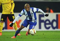 Yacine Brahimi (Porto) <br /> Dortmund,18.02.2016, Fussball, Europa League, Zwischenrunde Hinspiel, Borussia Dortmund - FC Porto 2:0<br /> norway only