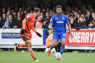 AFC Wimbledon Midfielder Tom Soares (19) during the EFL Sky Bet League 1 match between AFC Wimbledon and Wycombe Wanderers at the Cherry Red Records Stadium, Kingston, England on 27 April 2019.