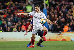 January 30, 2019 - Barcelona, BARCELONA, Spain - Sarabia of Barcelona in action during Spanish King championship, football match between Barcelona and Sevilla, January  30th, in Camp Nou Stadium in Barcelona, Spain. (Credit Image: © AFP7 via ZUMA Wire)