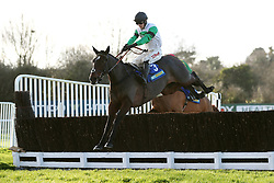 Jockey Paddy Brennan on Ami Desbois during the Betbright Dipper Novices' Chase