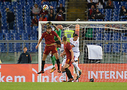 October 25, 2017 - Rome, Italy - Federico Fazio during the Italian Serie A football match between A.S. Roma and F.C. Crotone at the Olympic Stadium in Rome, on october 25, 2017. (Credit Image: © Silvia Lore/NurPhoto via ZUMA Press)
