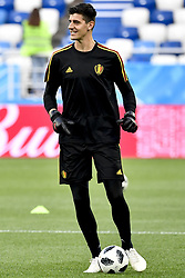 June 27, 2018 - Kaliningrad, RUSSIA - Belgium's goalkeeper Thibaut Courtois pictured during a training session of Belgian national soccer team the Red Devils in the Kaliningrad stadium, in Kaliningrad, Russia, Wednesday 27 June 2018. The team will play tomorrow their third game against England in the group stage of the FIFA World Cup 2018. BELGA PHOTO DIRK WAEM (Credit Image: © Dirk Waem/Belga via ZUMA Press)
