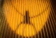 Shadow of lampshade bracket