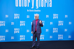 March 12, 2019 - Madrid, Madrid, Spain - Pedro Almodovar attends 'Dolor y Gloria' Photocall at Villamagna Hotel on March 12, 2019 in Madrid, Spain (Credit Image: © Jack Abuin/ZUMA Wire)