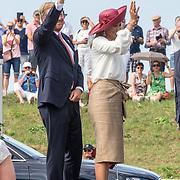 NLD/Terneuzen/20190831 - Start viering 75 jaar vrijheid, Koningin Maxima en Koning Willem Alexander
