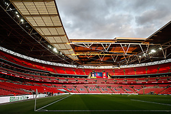 General View inside Wembley Stadium - Photo mandatory by-line: Rogan Thomson/JMP - 07966 386802 - 27/03/2015 - SPORT - FOOTBALL - London, England - Wembley Stadium - England v Lithuania UEFA Euro 2016 Qualifier.