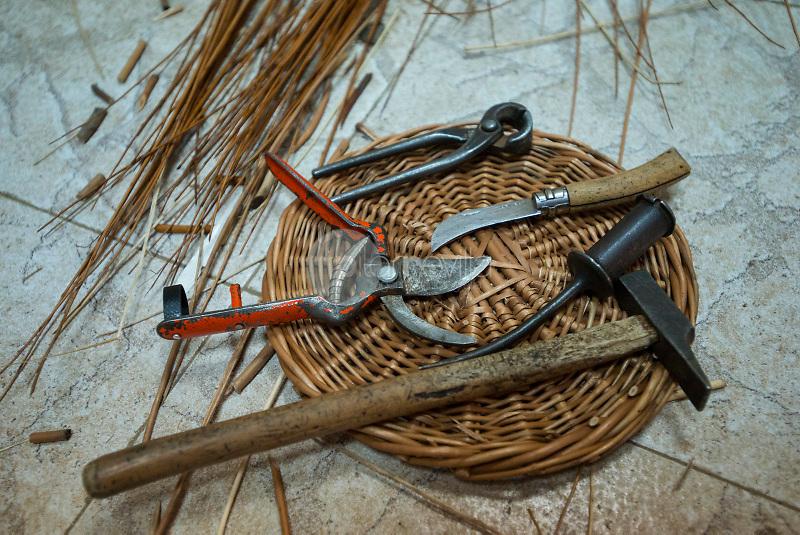 Artesanía del mimbre José Luis y Pilar. Villaconejos de Trabaque. Cuenca. España ©ANTONIO REAL HURTADO / PILAR REVILLA