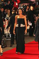 Naomie Harris, The Royal Film Performance; Mandela: Long Walk to Freedom, Odeon Leicester Square, London UK, 05 December 2013, Photo by Richard Goldschmidt