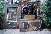 Mann Gulch memorial in Gates of the mountains