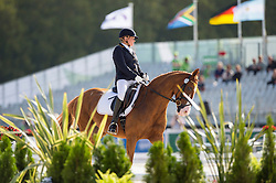 Hannelore Brenner, (GER), Women of the World - Team Competition Grade III Para Dressage - Alltech FEI World Equestrian Games™ 2014 - Normandy, France.<br /> © Hippo Foto Team - Jon Stroud <br /> 25/06/14