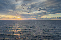 Sunset over Gulf of Saint Lawrence Nova Scotia