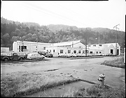 """ackroyd-09379-2. """"McCulloch & Sons. Exterior of their plant buildings. October 27, 1959."""" (note envelope contains a second negative taken five days before, this is a  re-shoot.)"""
