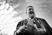 Giuliano Ferrara, giornalista italiano direttore del quotidiano 'Il Foglio'. Roma, 25 giugno 2013. Christian Mantuano / OneShot