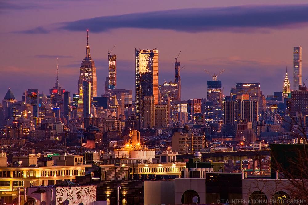 Midtown Manhattan Skyline @ Dawn