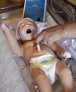 The newborn HAL simulator at Orange Regional Medical Center's Horton campus on Thursday, Aug. 5, 2010.