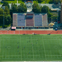 aerial view of St. John's University Da Silva Memorial Field in Queens new York