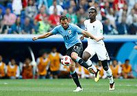 Cristian Stuani (Uruguay) and Paul Pogba (France)<br /> Nizhny Novgorod 06-07-2018 Football FIFA World Cup Russia  2018 Uruguay - France / Uruguay - Francia <br /> Foto Matteo Ciambelli/Insidefoto