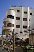 Bauhaus Architecture at 118 HaYarkon, Tel Aviv White City. The White City refers to a collection of over 4,000 buildings built in the Bauhaus or International Style in Tel Aviv from the 1930s by German Jewish architects who emigrated to the British Mandate of Palestine after the rise of the Nazis. Tel Aviv has the largest number of buildings in the Bauhaus/International Style of any city in the world. Preservation, documentation, and exhibitions have brought attention to Tel Aviv's collection of 1930s architecture.