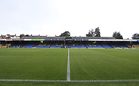A general view at Roots Hall<br /> <br /> Photographer Rob Newell/CameraSport<br /> <br /> The EFL Sky Bet Championship - Southend United v Blackpool - Saturday 10th August 2019 - Roots Hall - Southend<br /> <br /> World Copyright © 2019 CameraSport. All rights reserved. 43 Linden Ave. Countesthorpe. Leicester. England. LE8 5PG - Tel: +44 (0) 116 277 4147 - admin@camerasport.com - www.camerasport.com