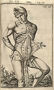 The human body De humani corporis fabrica libri decem, 1627.
