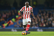 Bruno Martins Indi of Stoke City in action. Premier league match, Chelsea v Stoke city at Stamford Bridge in London on Saturday 31st December 2016.<br /> pic by John Patrick Fletcher, Andrew Orchard sports photography.