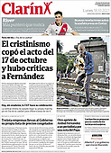 October 18, 2021 - LATIN AMERICA: Front-page: Today's Newspapers In Latin America