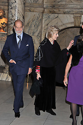 HRH PRINCE MICHAEL OF KENT and HRH PRINCESS ALEXANDRA at a private view of Photographs by Cecil Beaton celebrating the diamond jubilee of HM The Queen Elizabeth 11 at the Victoria & Albert Museum, Cromwell Road, London on 6th February 2012.