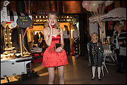 NATALIA VODIANOVA, The World's First Fund Fair  in aid of Natalia Vodianova's charity the Naked Heart Foundation. The Roundhouse. London. 24 February 2015.