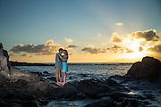 Kayla & Ryan honeymoon portrait session at Kapalua Bay June 18, 2016.