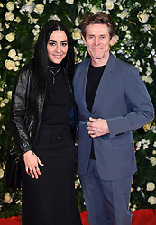 Giada Colagrande and Willem Dafoe arriving at the Charles Finch Filmmakers Dinner, Eden Rock, Hotel du Cap during the 72nd Cannes Film Festival. Photo credit should read: Doug Peters/EMPICS