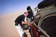 Fuel stop in the Desert