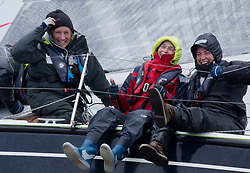 Clyde Cruising Club's Scottish Series 2019<br /> 24th-27th May, Tarbert, Loch Fyne, Scotland<br /> <br /> Day 2 Wet & Wild on Loch Fyne.<br /> <br /> GBR8569T, Delinquent, CCC/CYCA, Dehler 34.<br /> <br /> <br /> Credit: Marc Turner / CCC