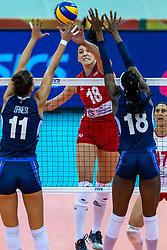 16-10-2018 JPN: World Championship Volleyball Women day 17, Nagoya<br /> Italy - Serbia / Tijana Boskovic #18 of Serbia