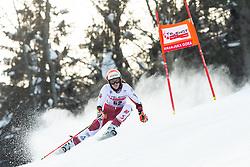 Rosina Schneeberger (AUT) during Ladies' Giant Slalom at 57th Golden Fox event at Audi FIS Ski World Cup 2020/21, on January 17, 2021 in Podkoren, Kranjska Gora, Slovenia. Photo by Vid Ponikvar / Sportida