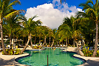 Swimming pool, Cheeca Resort and Lodge, Islamorada Key, Florida Keys, Florida USA
