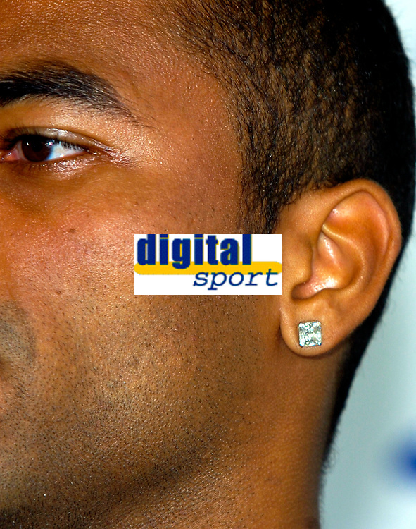 Photo: Alan Crowhurst.<br />Chelsea Press Conference. 08/09/2006. Ashley Cole at his unvieling at Chelsea FC, have they signed another diamond.