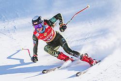 10.01.2020, Keelberloch Rennstrecke, Altenmark, AUT, FIS Weltcup Ski Alpin, Abfahrt, Damen, 2. Training, im Bild Isabella Wright (USA) // Isabella Wright of the USA in action during her 2nd training run for the women's Downhill of FIS ski alpine world cup at the Keelberloch Rennstrecke in Altenmark, Austria on 2020/01/10. EXPA Pictures © 2020, PhotoCredit: EXPA/ Johann Groder