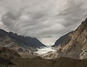 The dramatic Passu glacier, viewed from the Karakoram Highway.