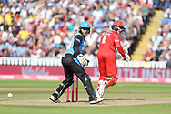 Lancashires Keaton Jennings during the Vitality T20 Finals Day semi final 2018 match between Worcestershire Rapids and Lancashire Lightning at Edgbaston, Birmingham, United Kingdom on 15 September 2018.
