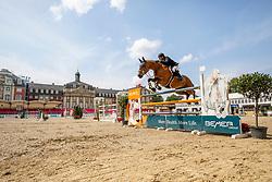 FOUTRIER Guillaume (FRA), TCHIN DE LA TOUR<br /> Münster - Turnier der Sieger 2019<br /> Preis des EINRICHTUNGSHAUS OSTERMANN, WITTEN<br /> CSI4* - Int. Jumping competition  (1.45 m) - <br /> 1. Qualifikation Mittlere Tour<br /> Medium Tour<br /> 02. August 2019<br /> © www.sportfotos-lafrentz.de/Stefan Lafrentz