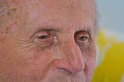 Abram Isach Axelrud faz parte da comunidade judaica de Santa Maria. Localizado no interior do município de Itaará encontra-se o cemitério da fazenda Philippson que abriga os corpos dos imigrantes que formaram no local a primeira Comunidade Judaíca do país no ano de 1904. FOTO: Lucas Uebel/Preview.com