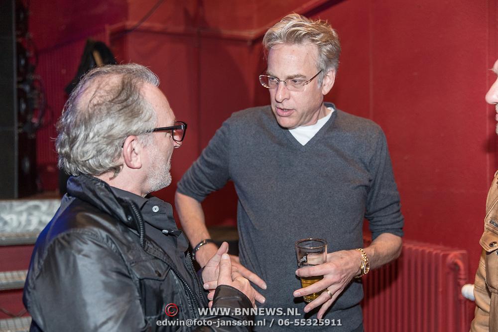 NLD/Bussum/20190306  - boekpresentatie 50 jaar Nederlandse popcultuur van Lex Harding, Adam Curry en Jeroen van Inkel