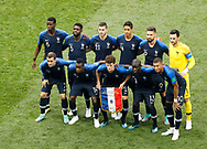 Team of France before the 2018 FIFA World Cup Russia, final football match between France and Croatia on July 15, 2018 at Luzhniki Stadium in Moscow, Russia - Photo Tarso Sarraf / FramePhoto / ProSportsImages / DPPI