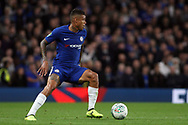 Kenedy of Chelsea in action. Carabao Cup 3rd round match, Chelsea v Nottingham Forest at Stamford Bridge in London on Wednesday 20th September 2017.<br /> pic by Steffan Bowen, Andrew Orchard sports photography.