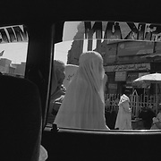 Kandahari's see in downtown Kandahar City from inside a taxi cab in Kandahar, Afghanistan. (Credit Image: © Louie Palu/ZUMA Press/The Alexia Foundation).....